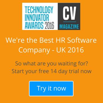 We've been voted Best HR Software Company – UK