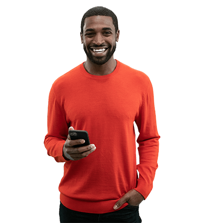 Akil with phone january campaign - Compressed