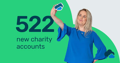 Breathe 522 new charity accounts in 2018