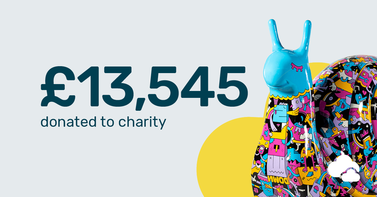 Breathe 13,545 donated to charity in 2018