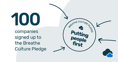 Breathe 100 companies signed Culture Pledge in 2018