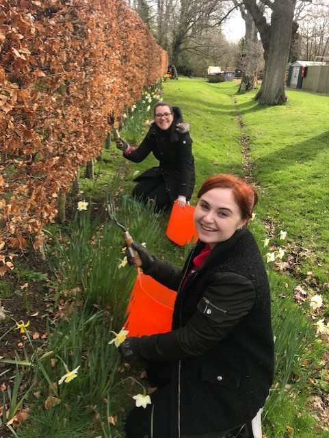Bethan and Katie Breathe volunteering charity hr software