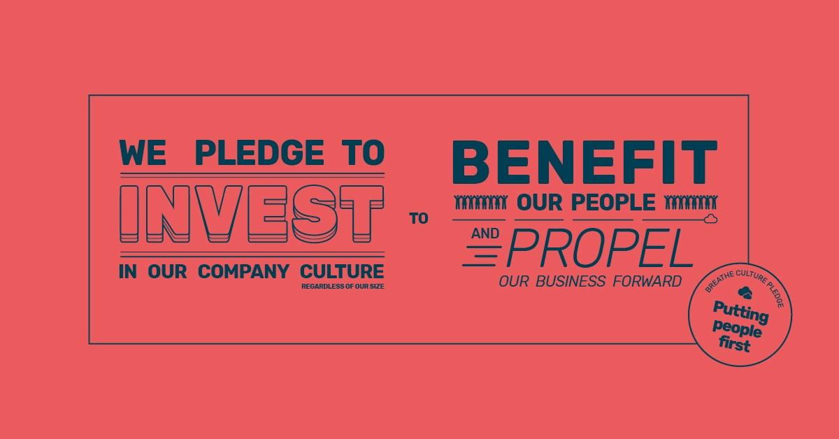 Breathe Company Culture Pledge HR SaaS