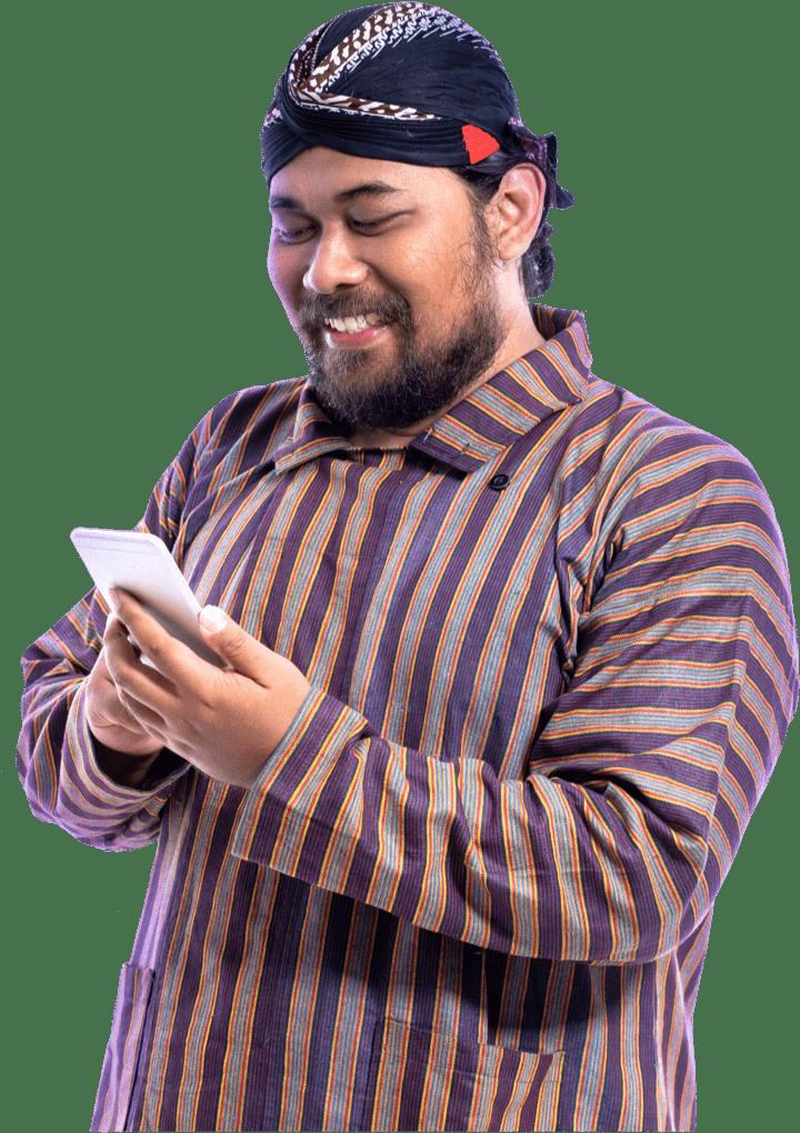 man-phone-isolated
