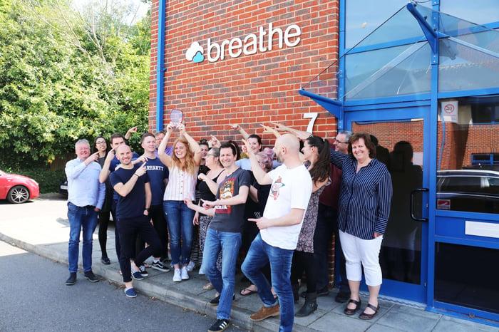 Breathe wins NTA award