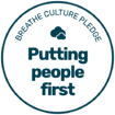 Breathe Culture Pledge Badge