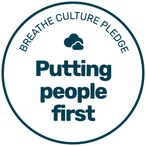 Breathe Culture Pledge Badge