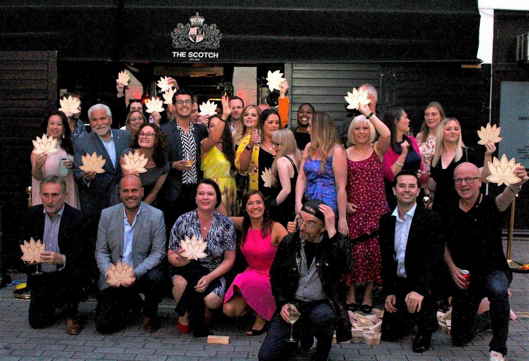 Lotus Award group photo