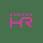 Pink Gravitate HR Logo_Black Background_Social Media