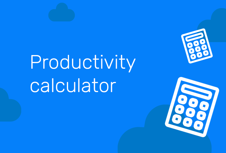 Productivity calc pledge hub-min