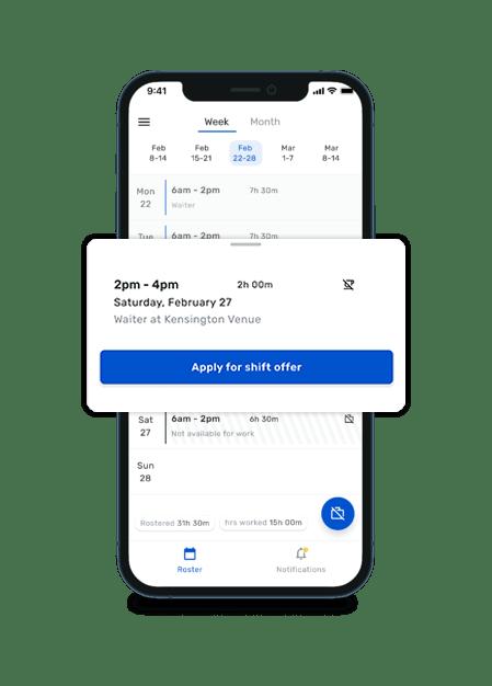 RTA mobile app - shift swap-min