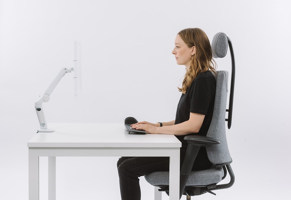 posture people wfh desk