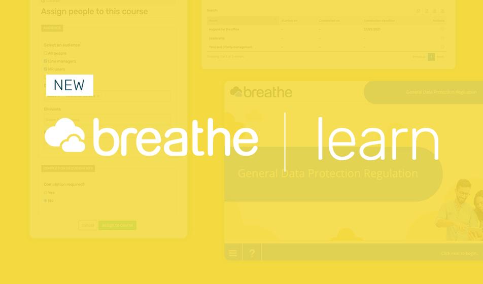 Breathe's new Learn module