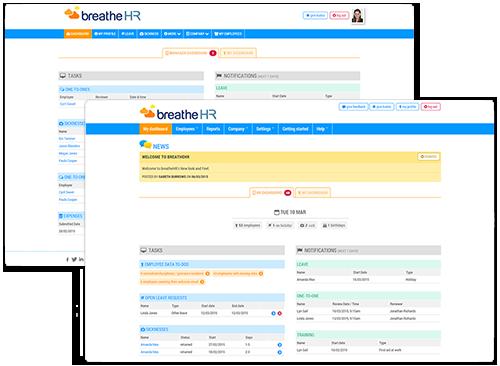 cloud software HR Dashboard