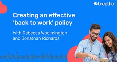 Creating an effective back to work policy thumb
