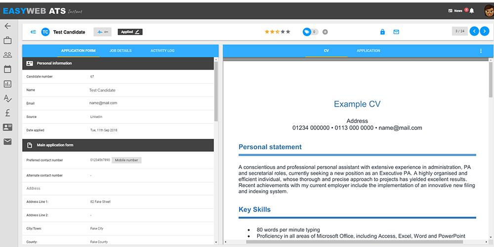 Easyweb UI