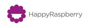 Happy Raspberry  Logo