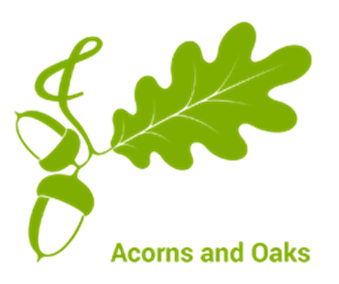 Acorns & Oaks Logo
