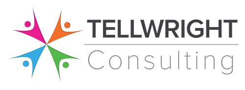 Tellwright Consulting  Logo