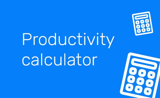 Productivity calculator - min