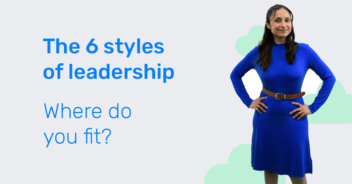 The six styles of leadership guide image