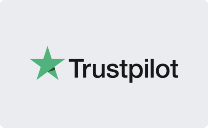 Trustpilot reviews card