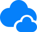 blue clouds 165 x 110